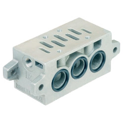 ASCO Series 355 Subbase for Solenoid Valves