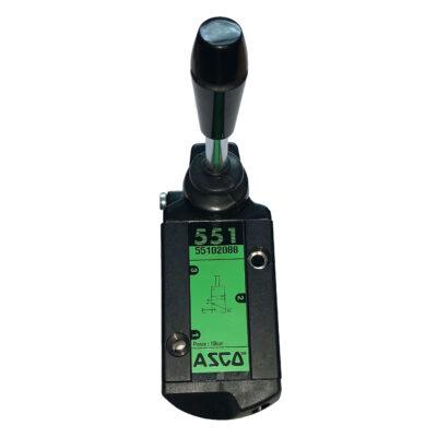 ASCO Series 551 Lever Operated Spool Valve