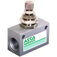 ASCO Series 346 Panel Mounted Inline Flow Regulator