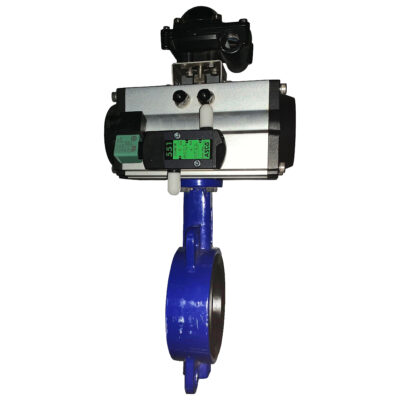 Complete Butterfly Valve With Namur Valve and Switchbox