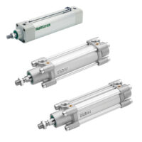 ASCO and Aventics cylinders offer easy mounting, sturdy design with a profiled barrel in hard anodised aluminium