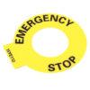 Allen Bradley Emergency Stop Label