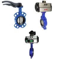 Butterfly valves are used from basic water applications to industrial applications and highly corrosive severe service applications.