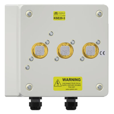 Castell Stainless Steel KSE Power Safe Electrical Switch With Enclosure
