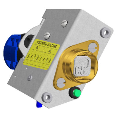 Castell Brass KSUPS Solenoid Controlled Switch