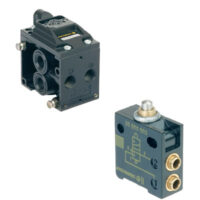 The Poppet valves are ideal for single acting cylinders, air bellows and vacuum material handling.
