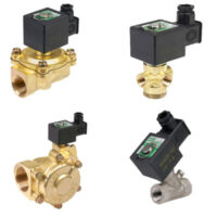 Our range of solenoid valves are compatible with many fluids, including high pressure and gaseous fluids and can operate at a wide range of temperatures.